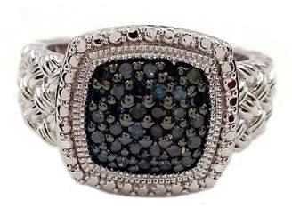 Savvy Cie Blue Diamond Ring - 0.25 ctw