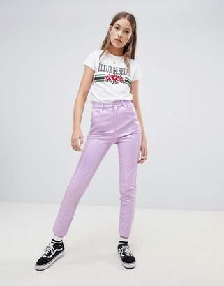 Daisy Street Vinyl Pants