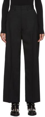 Junya Watanabe Black Wool Trousers