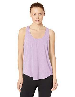 Core 10 Amazon Brand Women's Plus Size Soft Pima Cotton Stretch Yoga Racerback Tank