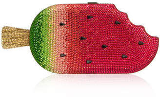 Judith Leiber Couture Watermelon Popsicle Clutch Bag