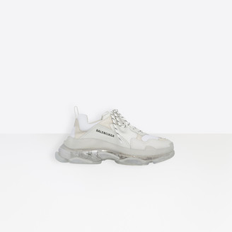 Balenciaga Oversized multimaterial sneakers with air bubble inside the sole
