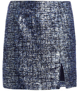 Opening Ceremony Lurex boucle mini-skirt