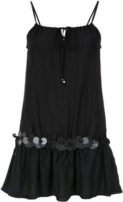 AMIR SLAMA embellished straight dress