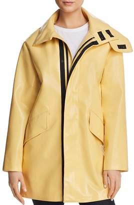 AVEC LES FILLES Patent Raincoat - 100% Exclusive