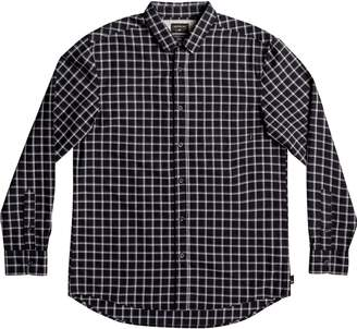 Quiksilver Everyday Check Long-Sleeve Button-Down Shirt - Men's