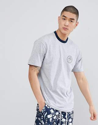 Vans Established 66 Ringer T-Shirt In Gray VA3H5X1RY