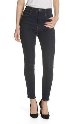 Frame Ali High Waist Cigarette Skinny Jeans