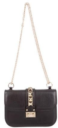 Valentino Valentino Lock Flap Shoulder Bag