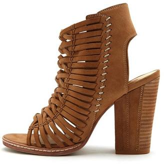 Dolce Vita Strappy Peep Toe Heel $190 thestylecure.com