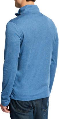 Michael Kors Men's Interlock Quarter-Zip Sweater
