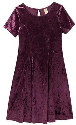 Harper Canyon Velvet Party Dress (Big Girls)
