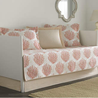 Laura Ashley Coral Coast 5 Piece Twin Daybed Quilt Set by Home