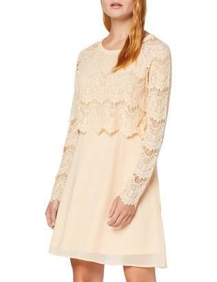 Vila Women's 14039228 Long Sleeve Dress - Green - 8