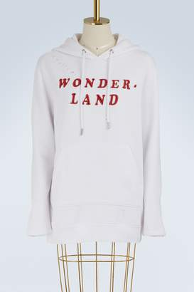 Zoe Karssen Boyfriend Fit Hooded Sweat Wonder-Land