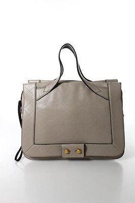 Marc By Marc Jacobs Marc By Marc Jacobs Beige Brown Leather Tote Shoulder Handbag
