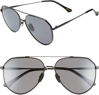 6910e41dac920 DIFF x Jessie James Decker Dash 61mm Polarized Aviator Sunglasses