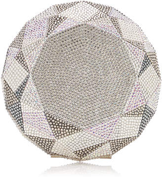 Judith Leiber Couture Diamond Material Crystal-Embellished Clutch