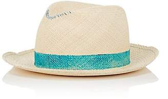 Albertus Swanepoel Women's Roman Panama Straw Hat - Neutral
