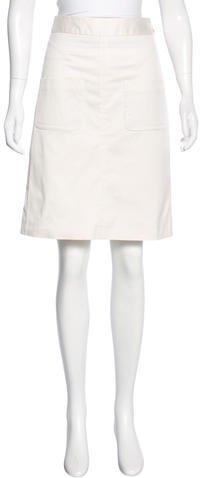Louis VuittonLouis Vuitton Knee-Length Pencil Skirt