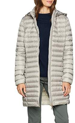 Geox Women's W JAYSEN Quilted Long Sleeve Parka,(Manufacturer Size: 48)