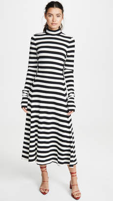 Marc Jacobs Long Sleeve Dress With Back Tie