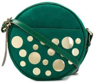 L'Autre Chose round embellished crossbody bag