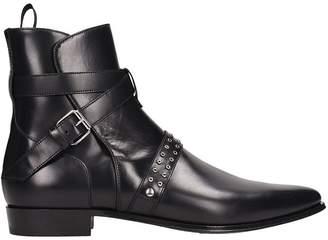 IRO Black Leather Boots