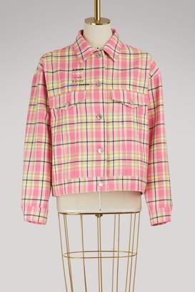 MSGM Checkered jacket