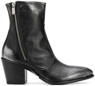 Rocco P. pointed toe ankle boots