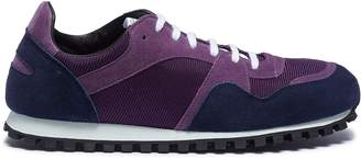 Spalwart 'Marathon Trail Low' suede panel leather sneakers
