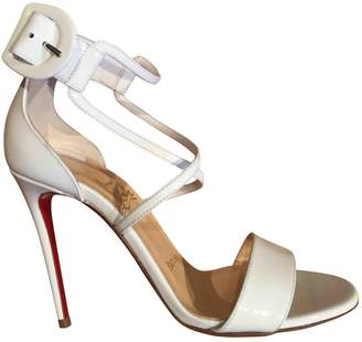 Christian Louboutin Patent leather sandal
