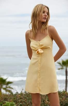 Lottie Moss Tie Front Button Down Dress