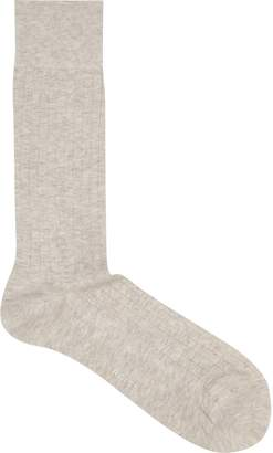Reiss Fela Ribbed Socks