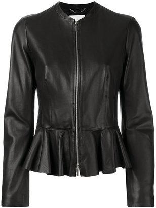 Boss Hugo Boss peplum hem jacket $942.01 thestylecure.com