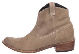 Anine Bing Suede Ankle Boots brown Suede Ankle Boots