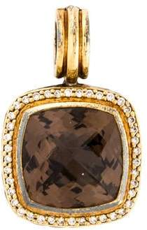 David Yurman Albion Smoky Quartz & Diamond Pendant