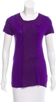 Ted Baker Pleated Short Sleeve Top