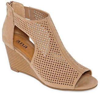 A.N.A Womens Silvi Wedge Sandals