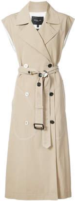 Derek Lam sleeveless trench coat