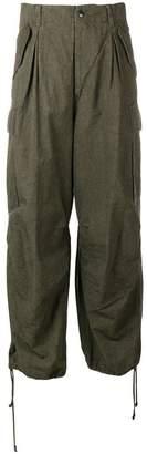Yohji Yamamoto loose fit trousers