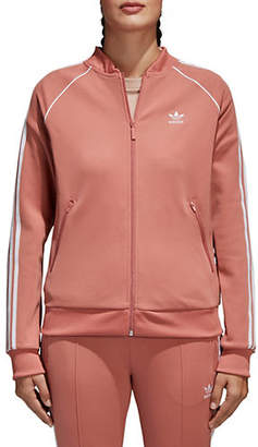 adidas Zip Front Long Sleeve Jacket