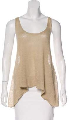 Enza Costa Sleeveless Linen Top