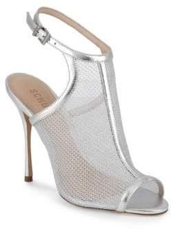 Schutz Mesh Stiletto Sandals