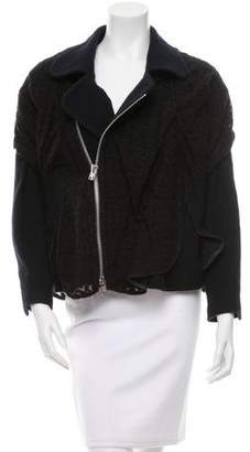 Julien David Lace Asymmetrical Jacket w/ Tags
