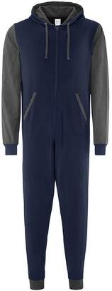 Co Comfy Adults Unisex Two Tone Contrast All-In-One Onesie (SM)
