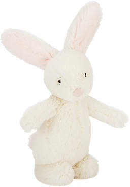 Jellycat Bobtail Bunny Rattle, One Size, Cream/Pink