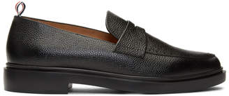 Thom Browne Black Lightweight Sole Penny Loafers
