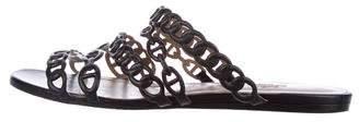 Hermes Chaîne d' Ancre Slide Sandals