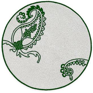 Joanna Buchanan Paisley Place Mat - Silver/Green